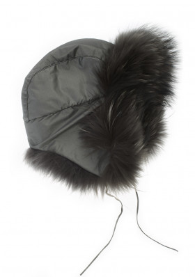 Women´s fur hat M.MILLER TROOPER F+F GR.DYED F.RAC.