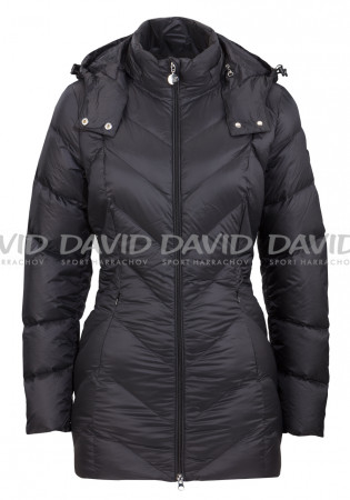 detail Women's coat Armani 6XTK01 Woven down black