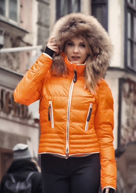 Ladies ski jacket Kelly Julia Mandarine