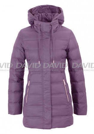 detail Women's coat Armani 6YTK02 Woven Montana grape