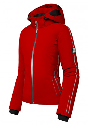 Women's ski jacket Descente Brynn red
