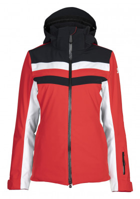 Women's Jacket Stöckli Skijacket Performance Red