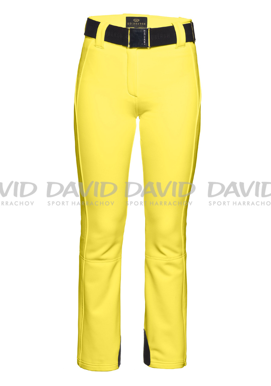 Women's ski pants Goldbergh Pipa yellow