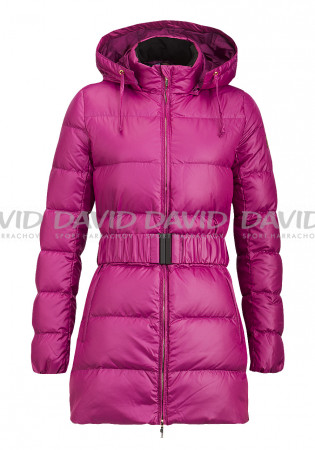 detail Ladies quilted coat ARMANI 281431 WOVEN RASPBERRY