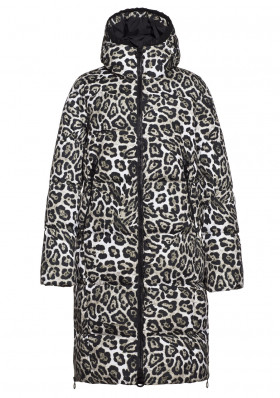 Women's coat Goldbergh GULLFOSS coat LEOPARD