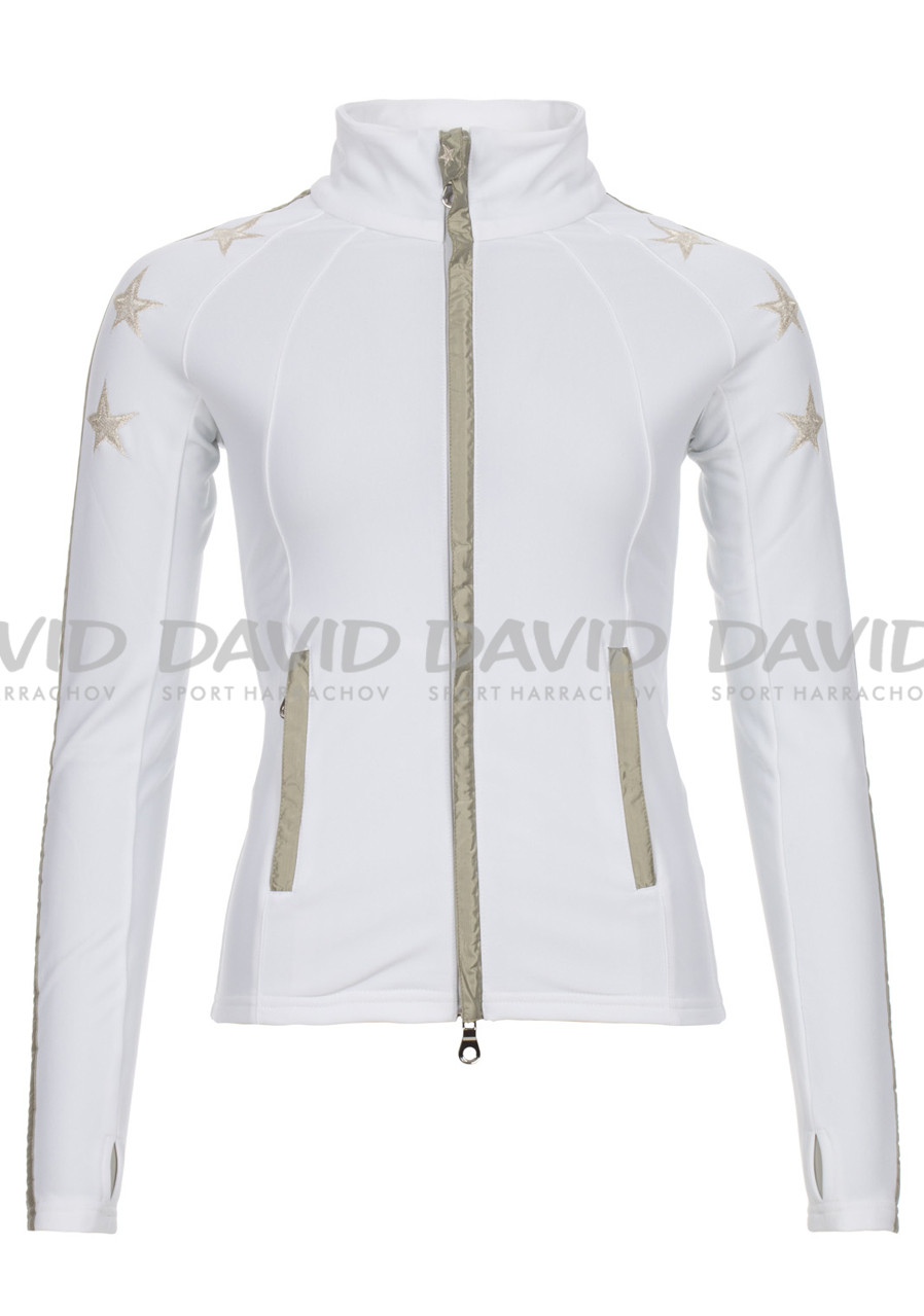 High Society Leonie 2nd layer jacket white/gold