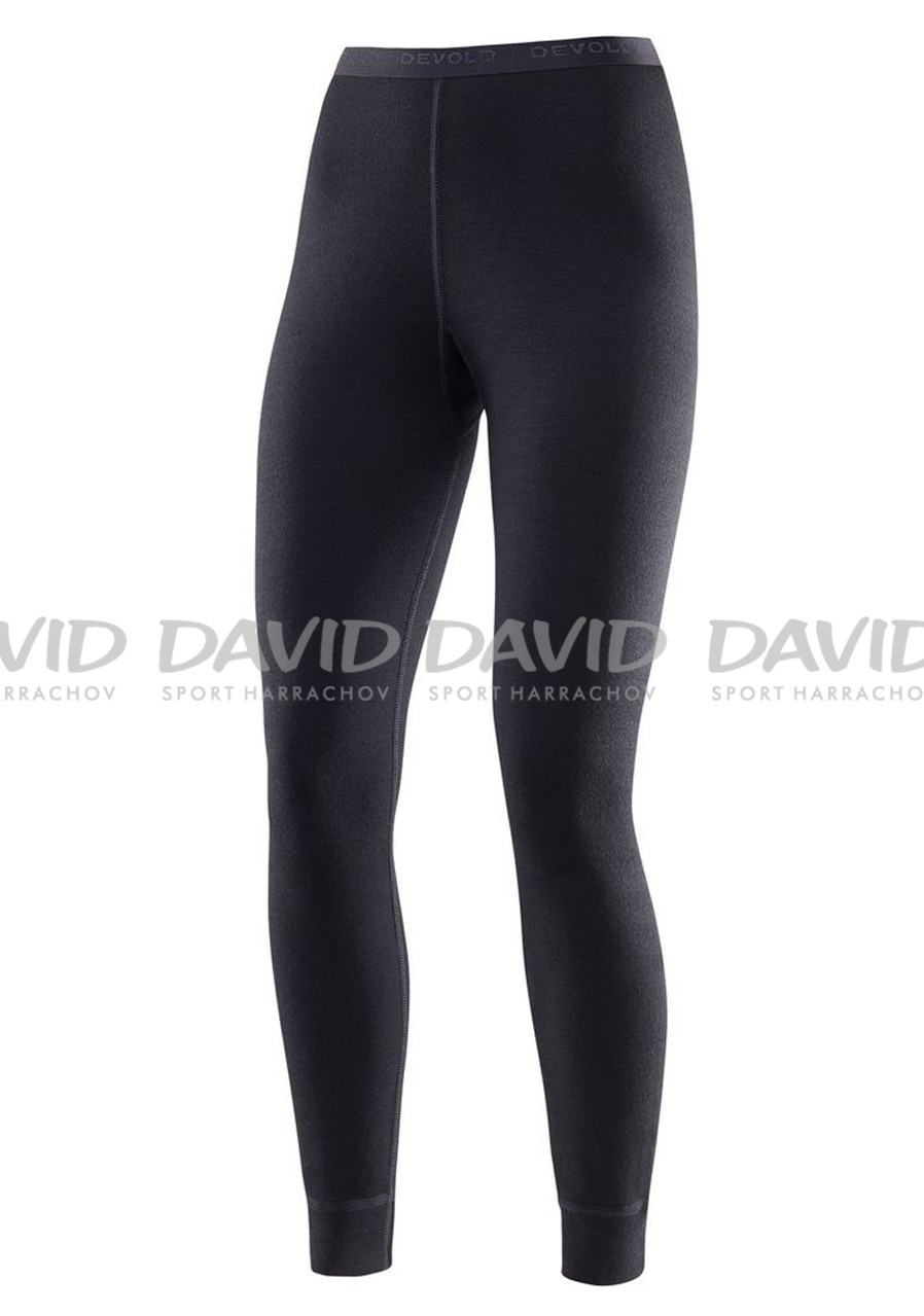 Ladies functional pants DEVOLD DUO ACTIVE W LONG JOHNS Black
