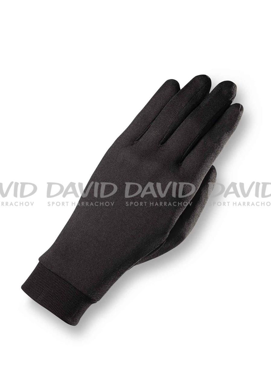 detail Women´s gloves Zanier Merino Woll Black