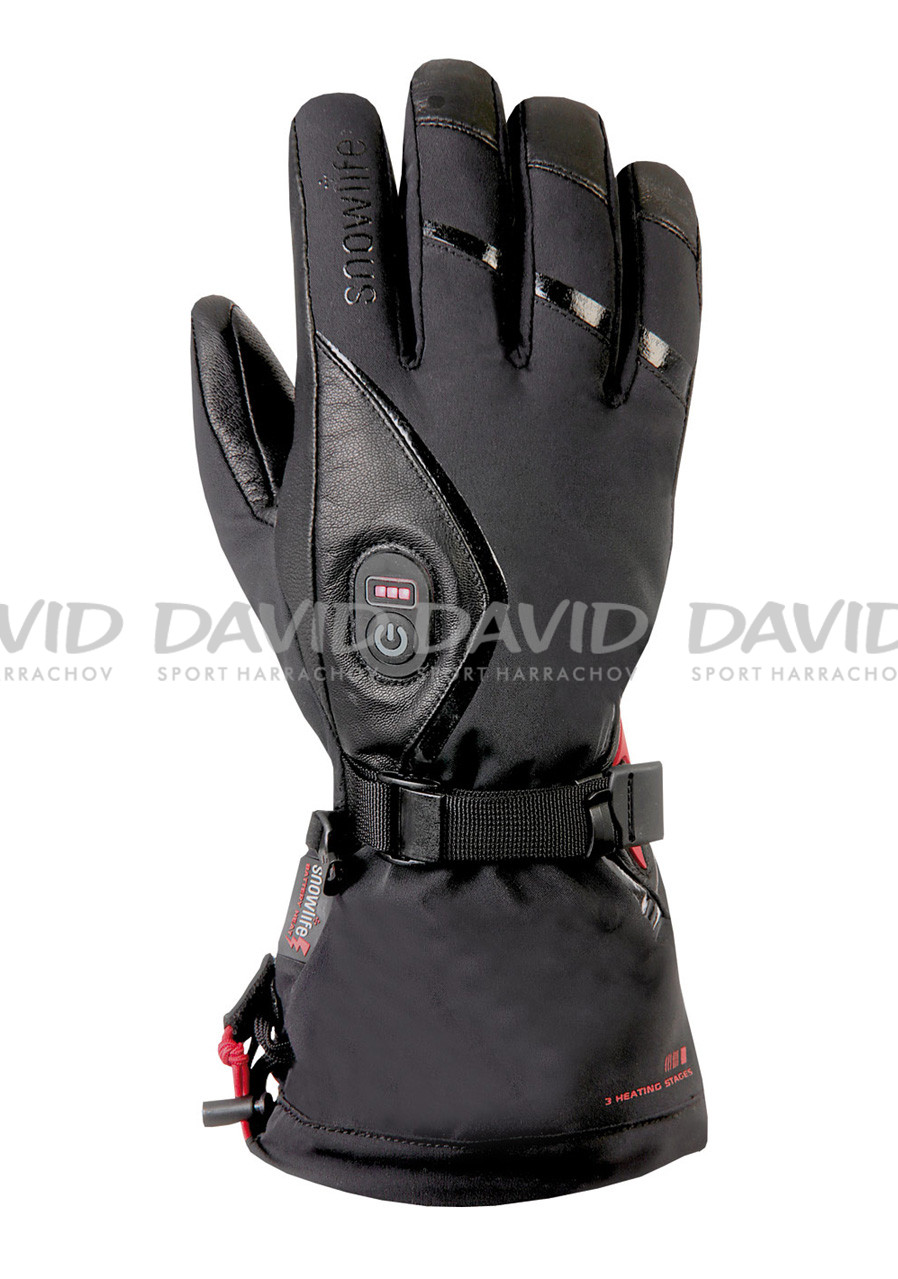 Women´s heated gloves SNOWLIFE HEAT GTX