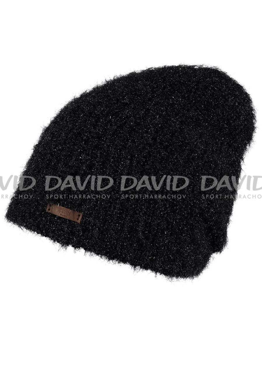 Ladies knitted hat ULTRA BARTS BEANIE BLACK