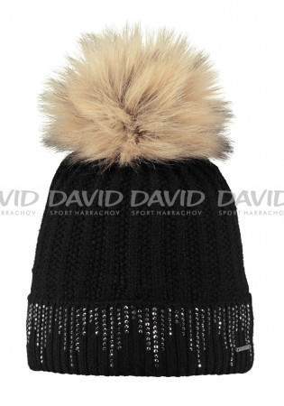 detail Ladies hat MARIGOLD BARTS BEANIE BLACK