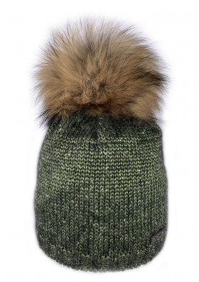 Women's winter hat NORTON 7929-07 MUTZE Green