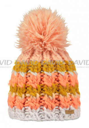 detail Women's winter hat BARTS FEATHER BEANIE OYSTER