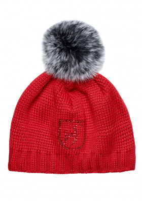 Women's beanie TONI SAILER 17 272905F BEANIE FUR RED