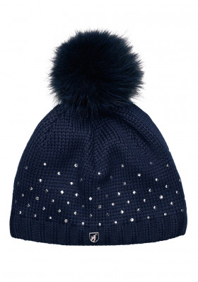 Women's beanie TONI SAILER 17 272909F JOANA FUR MIDNIGHT