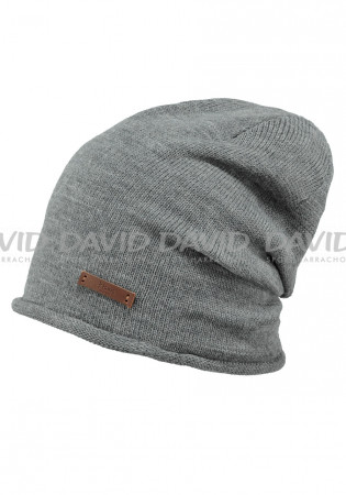 detail Barts James Beanie dark heather