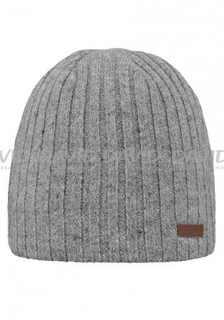 detail Barts Haakon Beanie heather grey