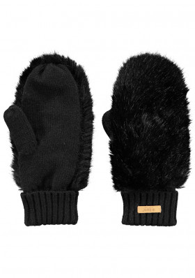 Ladies Gloves Barts Dorothy black mittens