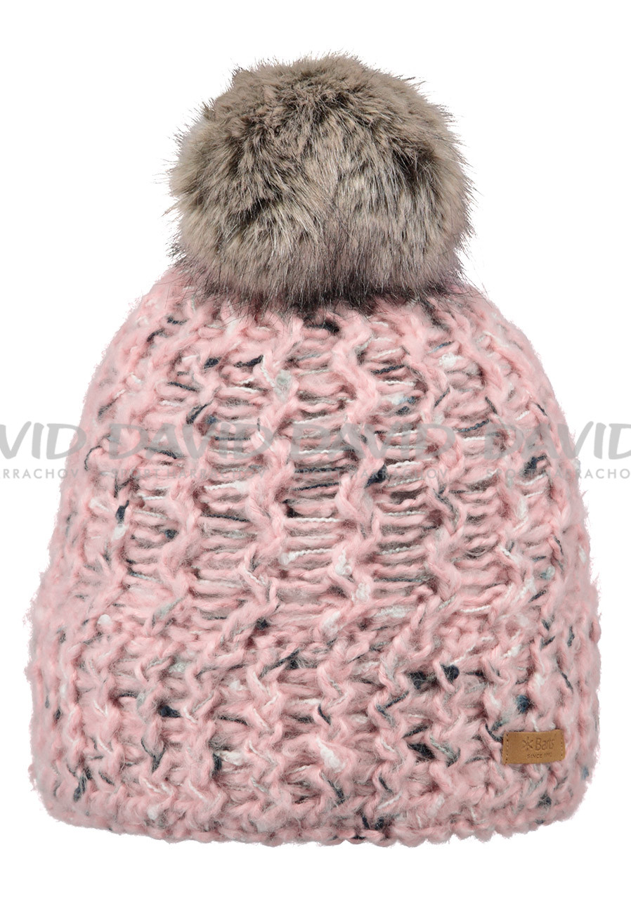 Women's knitted hat Barts Euny pink