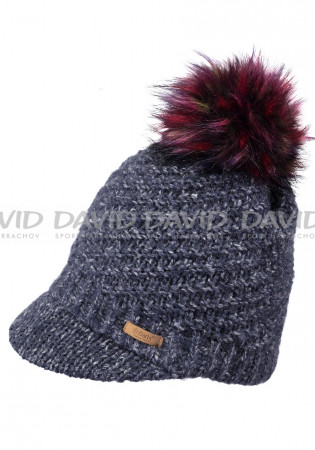 detail Women's knitted hat Barts Millie navy