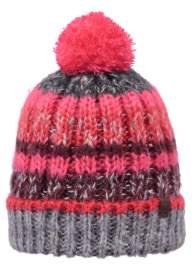 Women's knitted hat Barts Mos heather gray