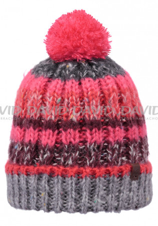detail Women's knitted hat Barts Mos heather gray