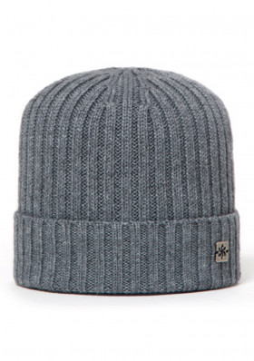 Men's cap GRANADILLA WOOL BEANIE MED GRAY