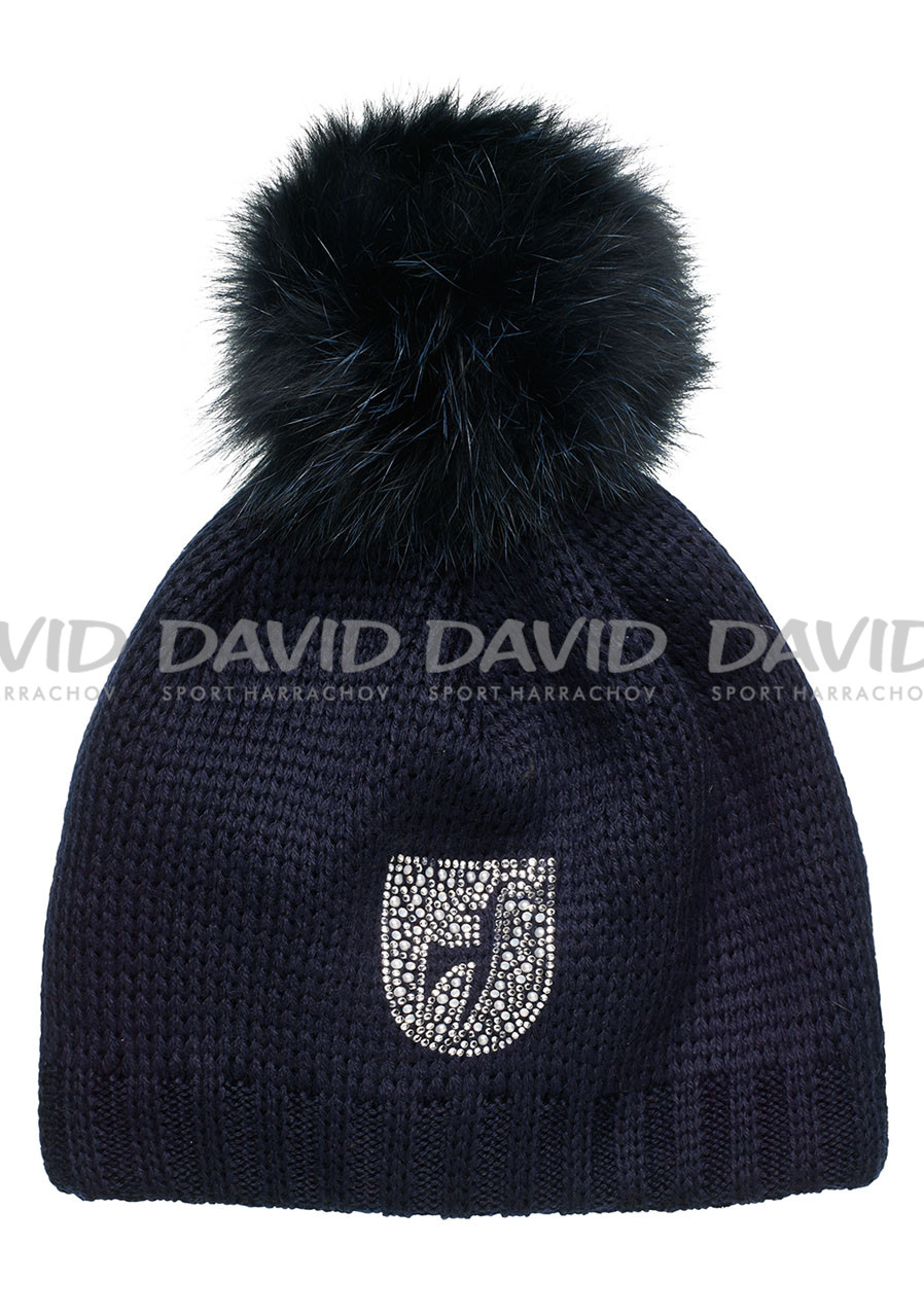 Toni Sailer Beanie pearl fur midnight