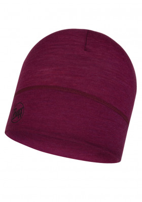 Cap BUFF 113013 LIGHTWEIGHT MERINO WOOL PURPLE RASPBERRY