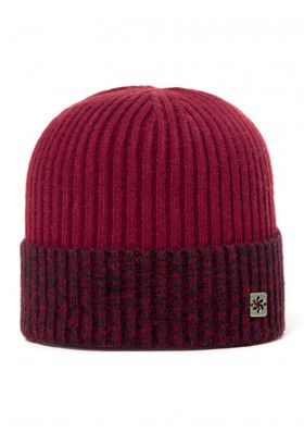 Men's cap Granadilla Polite Bordeaux
