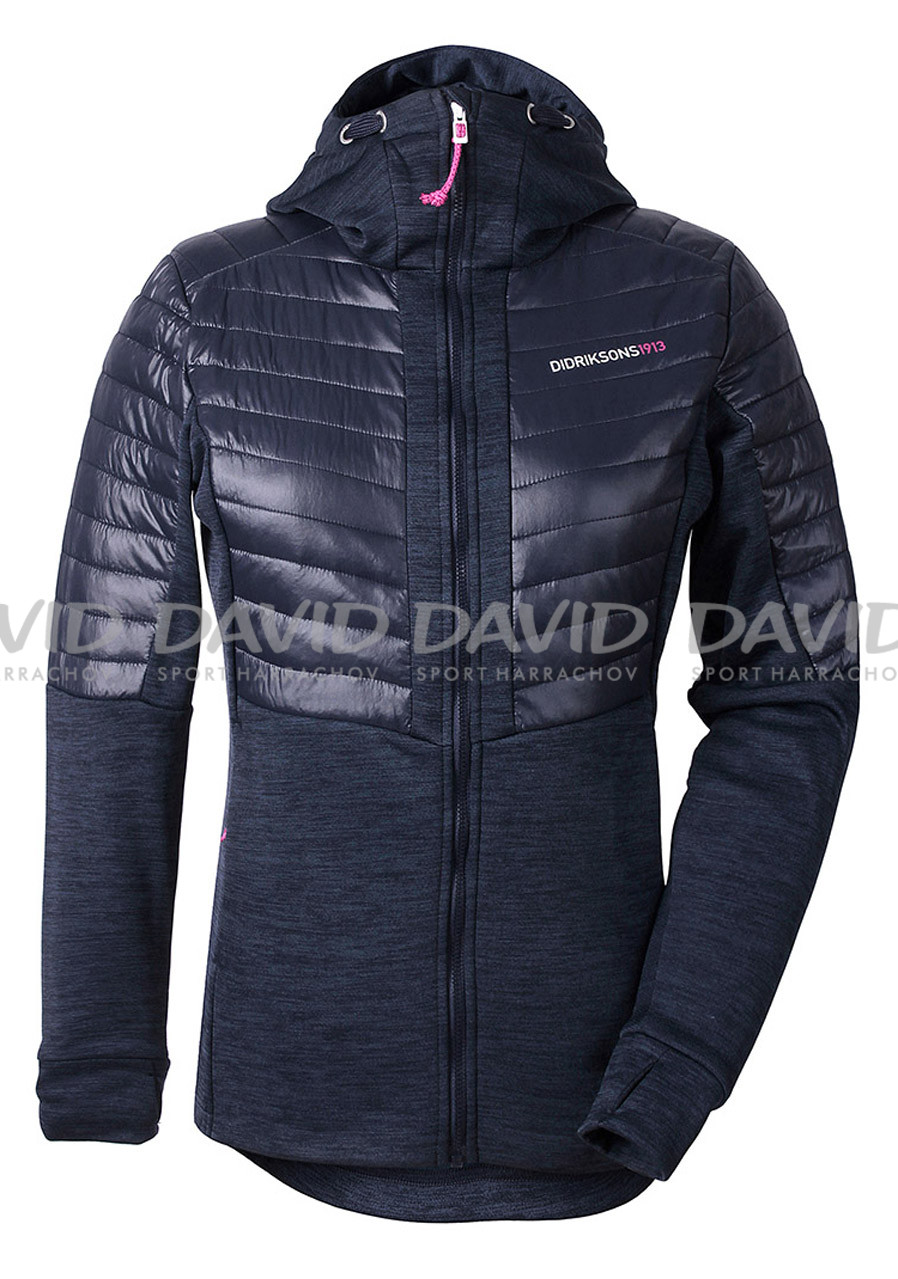 Women´s hood Didriksons Annema dark blue