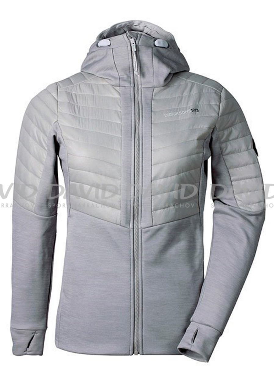 Women´s hood Didriksons Annema grey