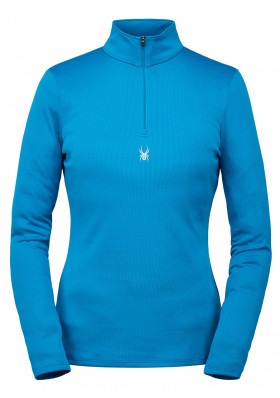 Women's turtleneck SPYDER 194092-425 -W TEMPTING-ZIP T-NECK-LAGOON