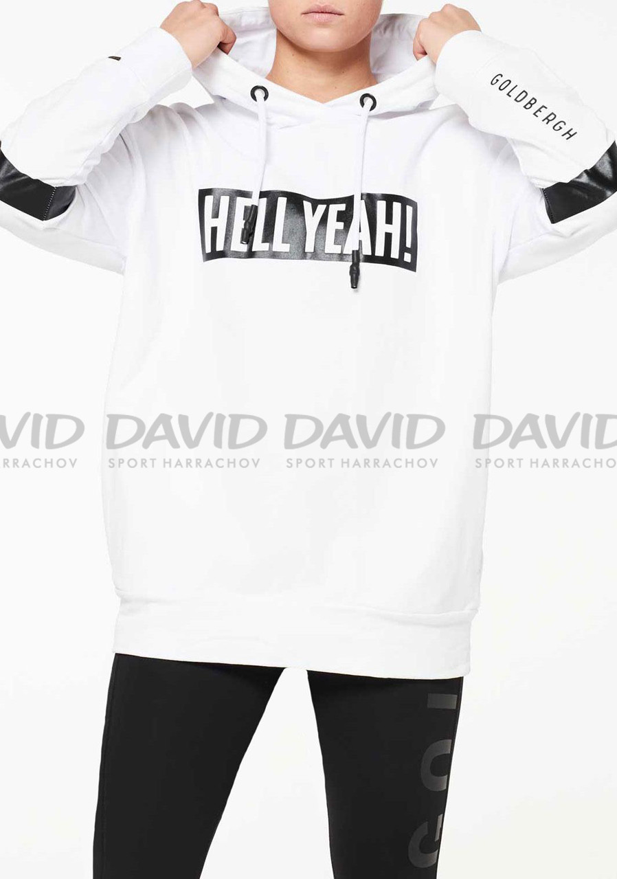 náhled Women's sweatshirt Goldbergh Heavenly white