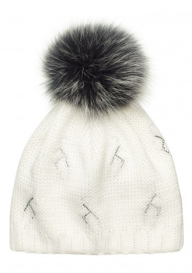 Women's hat Toni Sailer Beanie fur metalgoat 201
