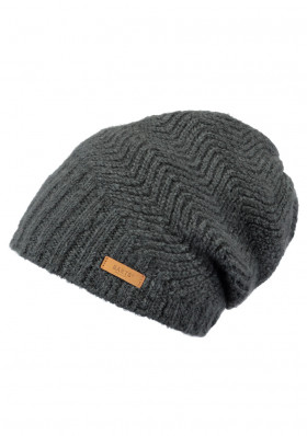 Women's cap BARTS CECILIA BEANIE DARK HEATHER