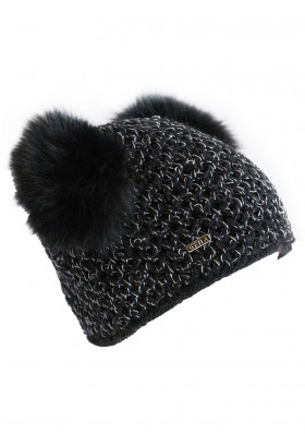 Women's knitted hat GENA ELEGANCE BLK
