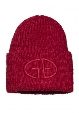 Women's beanie Goldbergh VALERIE beanie RUBY RED