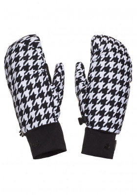 Women's gloves Goldbergh MOON mittens WHITE