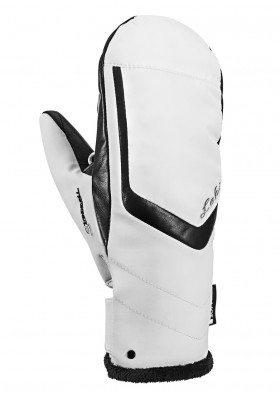 Leki Stella S Lady Mitt white-black