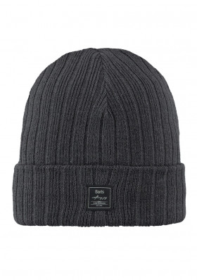 Men's hat Barts Parker charcoal