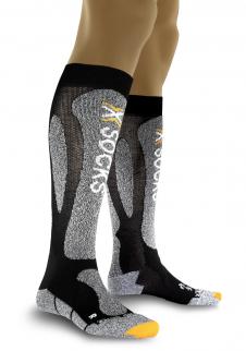 detail Men´s ski socks X-Socks ski Carving Silver M e466cc98f6