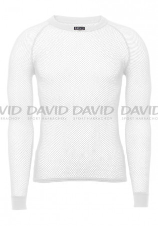 detail Men's t-shirt BRYNJE SUPER THERMO white