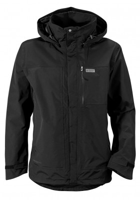 Mens jacket Didriksons Tropos black