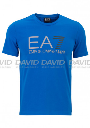 detail Men's T-Shirt Armani 6YPT81 Jersey blue