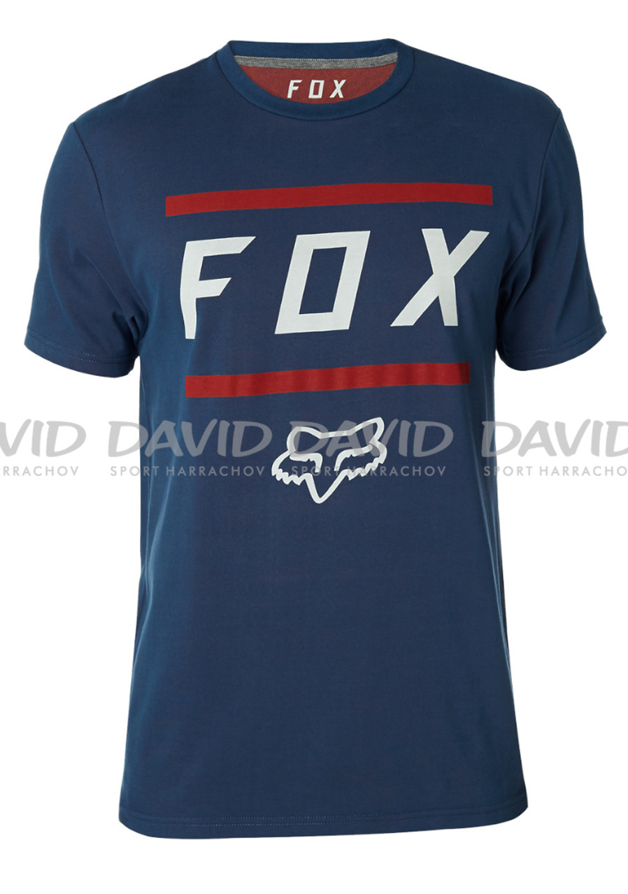 Fox Listless Airline SS Tee Navy/Red