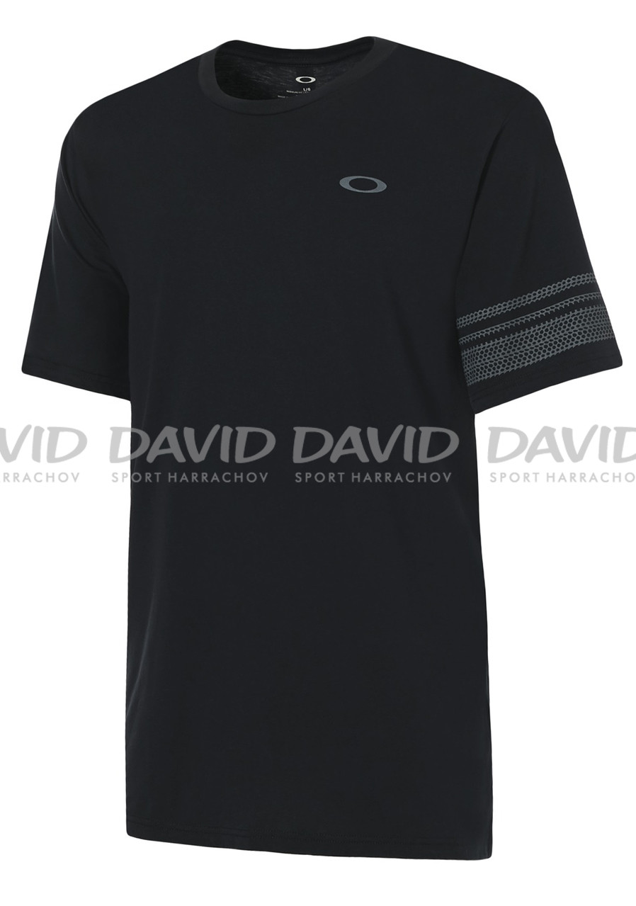 Men's T-shirt Oakley 50-Geo Sleeve Blackout