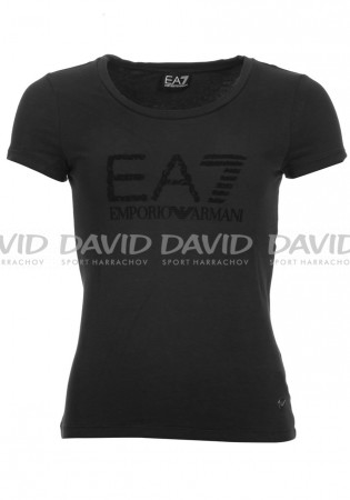 detail Women's T-Shirt Armani 6ZTT02 black