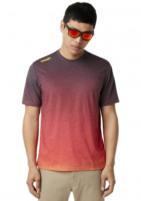 Men's T-shirt OAKLEY IRIDIUM FADE TEE ASTRAL AURA
