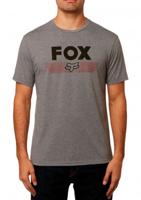 Fox Aviator Ss Tech Tee heather graphite